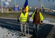 Protestatarii care au plecat pe jos de la Cluj-Napoca spre Bucuresti au ajuns la Brasov