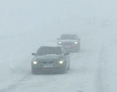 Circulatie rutiera reluata pe DN 67C, intre localitatile Novaci si Ranca! Patru drumuri...