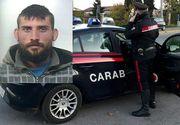 Roman de 27 de ani, arestat in Italia pentru ca si-a rapit fosta iubita, apoi a aruncat-o din masina in mers