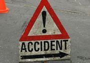 Accident grav in Braila dupa ce un autoturism a intrat intr-un microbuz plin cu pasageri