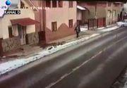 Accident teribil in Maramures! O masina a alunecat pe soseaua inghetata si a spulberat un om nevinovat care mergea pe trotuar