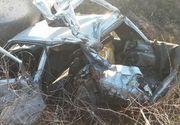 Accident feroviar in Satu Mare! O femeie a murit dupa ce masina in care se afla a fost lovita din plin de tren - Victima a fost proiectata pe camp