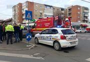 Un politist aradean a fost lovit cu masina condusa chiar de barbatul pe care urma sa-l amendeze