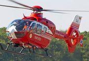 Clipe de cosmar pentru un adolescent din Iasi! L-a luat elicopterul SMURD dupa ce s-a taiat cu drujba pe fata!