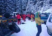 Operatiune dificila pentru salvamontisti! Au cautat toata seara un turist strain ratacit in munti!
