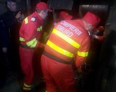 Explozie intr-un bloc din Deva. O femeie de 86 de ani a suferit arsuri de gradul intai...
