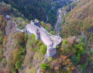 Se face funicular de 11 milioane de lei la cetatea lui Vlad Tepes! Pentru a ajunge pe...