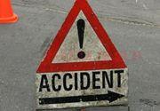 O caruta nesemnalizata a produs un grav accident in Arges! Bilantul: un mort si sase raniti!