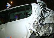 O soferita de 54 de ani din Constanta a facut prapad! A distrus 11 masini parcate, un stalp de electricitate si s-a rasturnat cu masina de mai multe ori