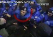 Rasturnare de situatie in cazul jandarmului bataus de la proteste! Sefii lui spun ca a procedat corect