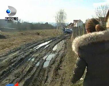 Sibiul, sub asediul mizeriei! In anumite zone, noroiul e pana la glezne