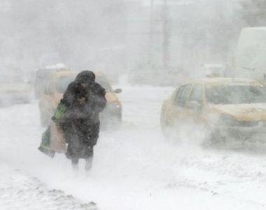 Un vortex polar va lovi Romania! Temperaturile vor scadea cu mult sub limita normala...