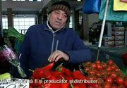 In lipsa controalelor serioase, bisnitarii isi fac de cap in piete! Reporterii Kanal D au petrecut ore in sir in pietele din Bucuresti pentru a gasi un producator!