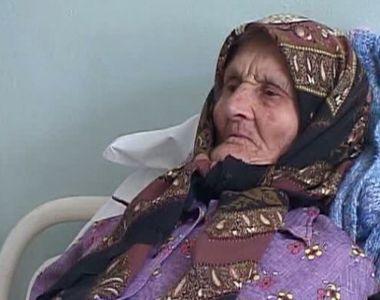 Aceasta batranica de 96 de ani a ajuns la spital pentru prima data in viata ei. Medicii...