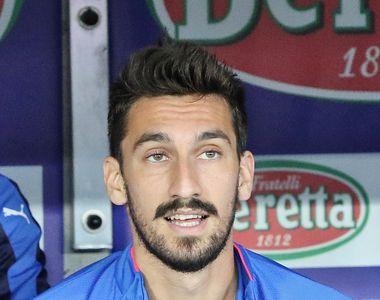 Veste cutremuratoare pentru fotbalul italian! Capitanul Fiorentinei, Davide Astori, a...