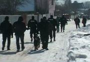 O sectie de politie din Vaslui a ars ca o torta! Localnicii sunt convinsi ca focul a fost pus de cineva suparat pe oamenii legii!