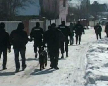 O sectie de politie din Vaslui a ars ca o torta! Localnicii sunt convinsi ca focul a...