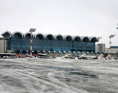 Este haos pe Aeroportul Henri Coanda din cauza vremii. Niciun avion nu decoleaza