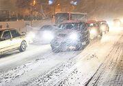 Accident grav in Bucuresti: doua persoane in stare grava. Circulatia este BLOCATA