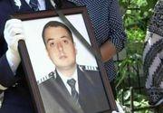 Sorin Vezeteu, politistul ucis pe peronul gării Burdujeni din Suceava, decorat post-mortem. Sotia sa a primit Emblema de Onoare cu lacrimi in ochi