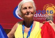Elena Pagu, o bunicuta in varsta de 91 de ani, a castigat medalia de aur la Campionatul European Masters