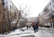 Explozie puternica intr-un bloc din Buzau, provocata de o acumulare de gaze!