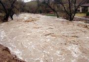 Hidrologii au emis cod galben de inundatii. Vezi harta zonelor vizate