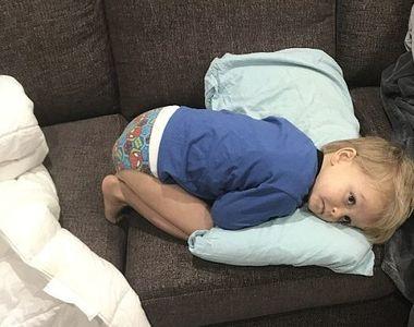 Acest baietel avea dureri mari de stomac, dar medicii l-au trimis acasa, pe motiv ca...