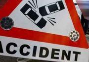Accident deosebit de grav pe DN 10, in Buzau! Doua persoane au pierit carbonizate!