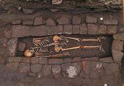 Caz rar si infricosator: arheologii au descoperit o nastere post-mortem intr-un mormant