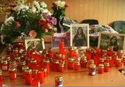 Durere fara margini la scoala unde invatau cei doi minori, ucisi de criminalul din Brasov! Imagini greu de privit - Crima a fost descrisa minut cu minut