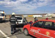 Accident grav in Timis! Doua masini de descarcerare s-au deplasat la fata locului!