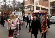 Galatenii au asistat la o procesiune speciala in prag de Florii! Imagini fabuloase din orasul de pe malul Dunarii!