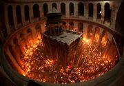 Lumina Sfanta s-a aprins la Ierusalim! Aceasta va fi trimisa in mai multe tari din lume, printre care si Romania!