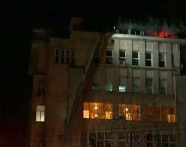 Incendiu puternic intr-un spital din Iasi! Flacarile au provocat pagube uriase! Ce s-a...