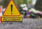 Accident grav in Salaj: 7 persoane, printre care si 4 copii, au fost ranite