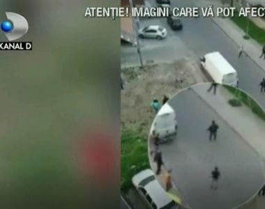 Scene de groaza intr-un cartier rezidential din Bucuresti. Ce a putut sa faca un...