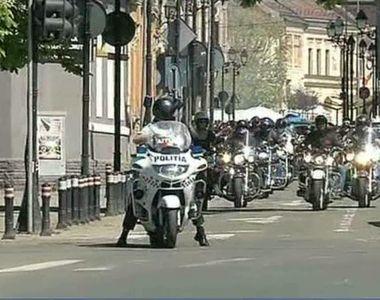 """Motociclistii au deschis oficial sezonul moto in Romania! """"Este un sentiment..."""