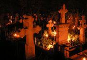 Au fost prinsi iesind din cimitir la miezul noptii cu sacosele pline. Cand au vazut ce era inauntru, politistii din Suceava au avut un soc! Tinerii au fost arestati pe loc