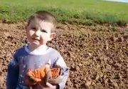 "Momentul emotionant in care copilul disparut din curtea casei in Cluj este gasit: ""Alex , stai! Esti in sguranta!"""