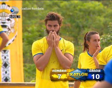 Noul meci international de la Exatlon, Romania-Grecia, a adus infrangerea romanilor. Au...
