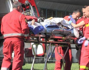Scene de groaza in Cluj! O femeie a fost taiata cu motocoasa de sot!