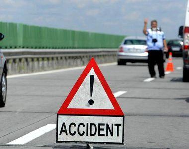 Trei persoane, ranite intr-un accident produs pe Autostrada Bucuresti-Pitesti. Traficul...