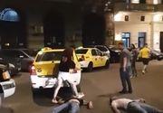 Ei sunt cei doi tineri snopiti in bataie in Centru Vechi din Bucuresti. Au fost lasati inconstienti pe asfalt, fara ca cineva sa intervina