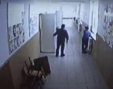 Ce decizie surprinzatoare a luat profesorul din Salaj, lovit de un elev pe holuri....