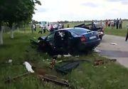 Accident cu cinci vicitme in Olt, dupa ce un autoturism si o autoutilitara s-au ciocnit! Pompierii de la descarcerare au intervenit rapid!
