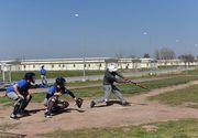 Mai buni ca americanii! Echipa nationala de baseball a Romaniei a invins echipa militarilor de la baza Kogalniceanu! Gica Hagi a dat lovitura de start!