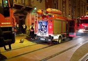 Panica in centrul Timisoarei dupa ce Facultatea de Muzica a luat foc chiar in timpul unui concert! Pompierii s-au chinuit sa salveze studentii ramasi inauntru!
