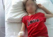 Fetita lovita cu capul de tabla de invatatoare a ajuns, astazi, din nou la spital