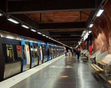 Scandal de proportii la metrou! Cativa indivizi s-au luat la bataie sub privirile...